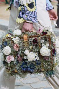 Louis Vuitton Floral Embellished Trunk Bag - Spring 2020