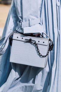 Louis Vuitton Gray Crocodile Small Trunk Bag - Spring 2020