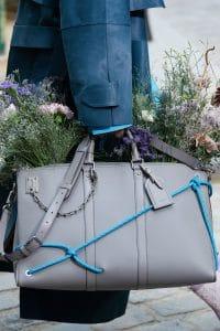 Louis Vuitton Gray Duffle Bag - Spring 2020