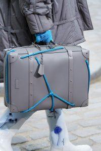 Louis Vuitton Gray Soft Luggage Bag - Spring 2020