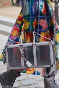 Louis Vuitton Gray Transparent Duffle Bag - Spring 2020