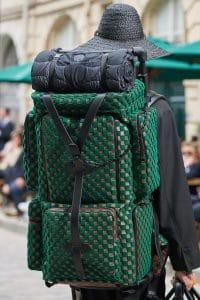 Louis Vuitton Green Damier Backpack Bag - Spring 2020