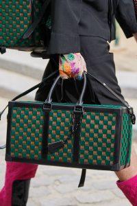 Louis Vuitton Green Damier Duffle Bag - Spring 2020