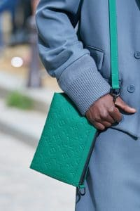 Louis Vuitton Green Monogram Shoulder Bag - Spring 2020