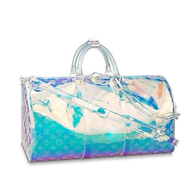 Louis Vuitton Iridescent Prism Keepall Bag