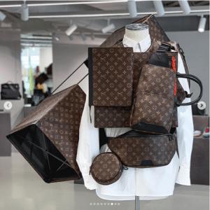 Louis Vuitton Monogram Canvas Messenger and Belt Bags