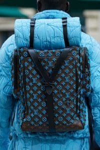 Louis Vuitton Monogram Tufted Canvas Backpack - Spring 2020