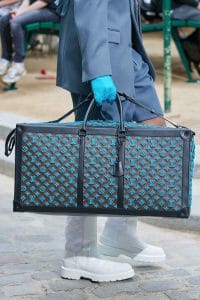 Louis Vuitton Monogram Tufted Canvas Large Duffle Bag - Spring 2020
