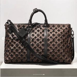 Louis Vuitton Monogram Tufted Keepall Bag