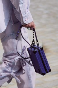 Louis Vuitton Purple Crocodile Mini Trunk Bag 2 - Spring 2020