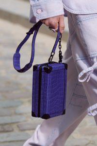 Louis Vuitton Purple Crocodile Mini Trunk Bag - Spring 2020