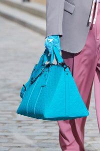 Louis Vuitton Turquoise Monogram Duffle Bag 2 - Spring 2020