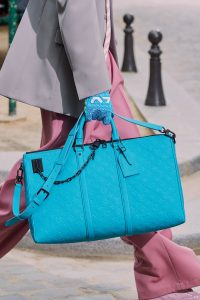 Louis Vuitton Turquoise Monogram Duffle Bag - Spring 2020