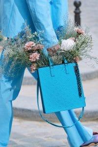 Louis Vuitton Turquoise Monogram Tote Bag - Spring 2020