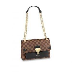 Louis Vuitton Damier Ebene Noir Vavin PM Bag