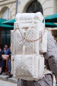 Louis Vuitton White Monogram Backpack Bag - Spring 2020