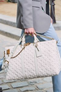 Louis Vuitton White Monogram Duffle Bag - Spring 2020