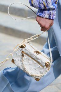 Louis Vuitton White Monogram Fabric Soft Trunk Bag - Spring 2020
