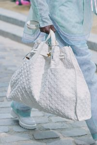 Louis Vuitton White Monogram Tote Bag - Spring 2020