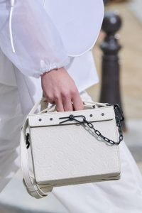 Louis Vuitton White Monogram Trunk Bag - Spring 2020