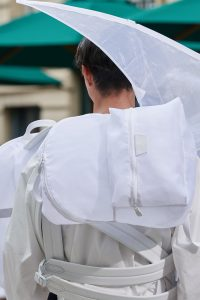 Louis Vuitton White Nylon Backpack Bag - Spring 2020