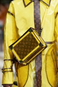 Louis Vuitton Yellow Monogram Canvas Messenger Bag - Spring 2020