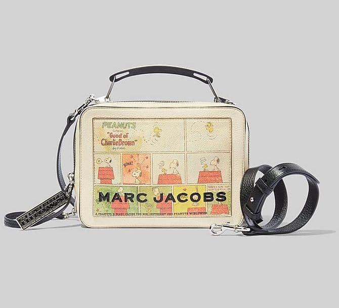 Marc Jacobs Peanuts Box Bag