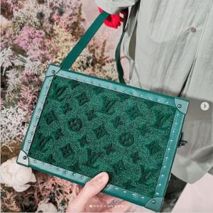 Louis Vuitton Green Mini Trunk Bag