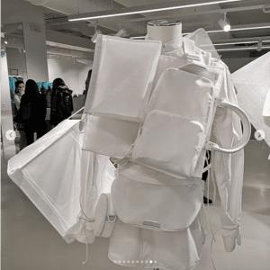 Louis Vuitton White Keepall Bag