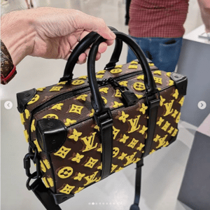 Louis Vuitton Monogram Tufted Top Handle Bag