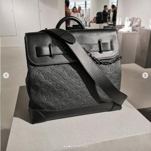 Louis Vuitton Black Monogram City Steamer Bag