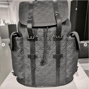 Louis Vuitton Gray Monogram Backpack Bag