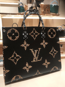 Louis Vuitton Jungle OntheGo Black Tote Bag