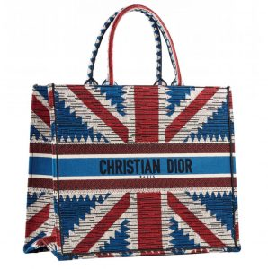 Dior Harrods Book Tote Union Jack