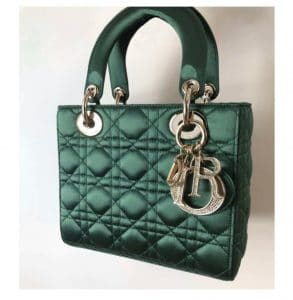 Lady Dior Bag Hunter Green - Fall 2019
