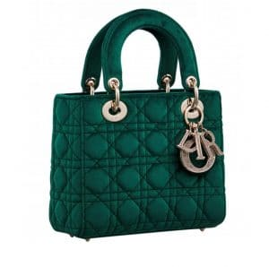 Lady Dior Hunter Green Bag - Fall 2019
