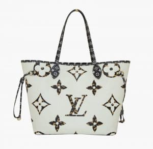 Louis Vuitton Jungle White Neverfull Bag