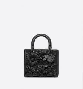 Lady Dior Mini 3D Flowers Bag - Fall 2019