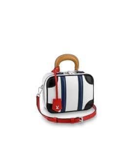 Louis Vuitton Mini Luggage Epi Black White Red Bag - Fall 2019