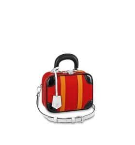 Louis Vuitton Mini Luggage Epi Red Black Bag - Fall 2019