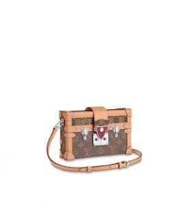 Louis Vuitton Petite Malle Pink Pop Print Bag - Fall 2019