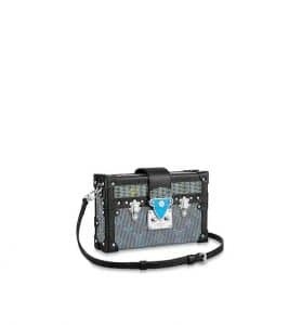 Louis Vuitton Tambourin Flap Blue Pop Print Bag - Fall 2019