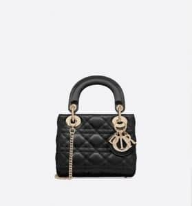 Mini Lady Dior Satin Bag - Fall 2019