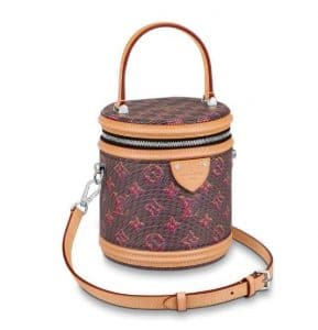 Louis Vuitton Cannes Red Pop Print Bag