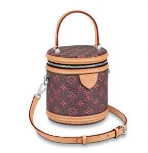 Louis Vuitton Cannes Red Pop Print Bag