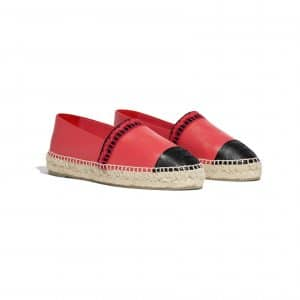 chanel-espadrilles-red-black