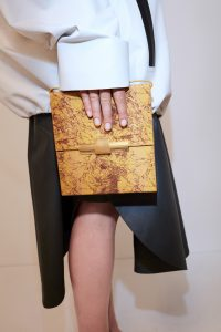 Bottega Veneta Python clutch - Resort 2020