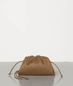 Bottega Veneta Pouch 20 Cross Body - Camel