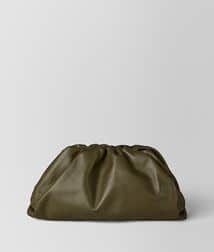 Bottega Veneta Pouch Clutch bag in Hunter Green