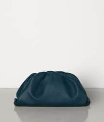Bottega Veneta Pouch Clutch bag in Dark Green